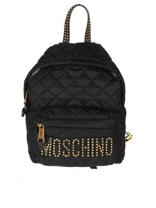 Moschino - Fabric backpack