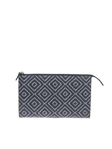 Salvatore Ferragamo - Leather clutch bag