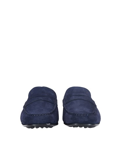 08ba6099569 Tod s Carrie Over blue suede loafers - XXM0LR00011RE0U820