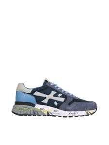 Premiata - Mick sneakers in blue and light blue