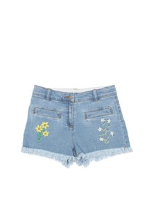 Stella McCartney Kids - Shorts in denim