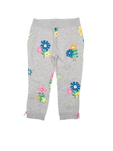 Stella McCartney Kids - Fleece cotton pants