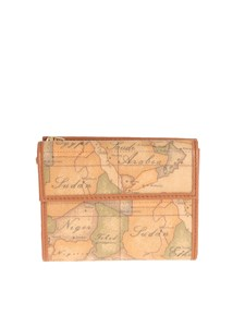 Alviero Martini 1° CLASSE - Leather and fabric wallet
