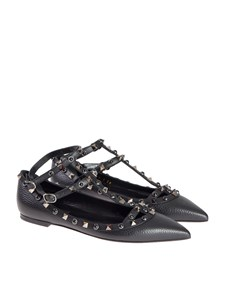 Valentino - Ankle strap flats