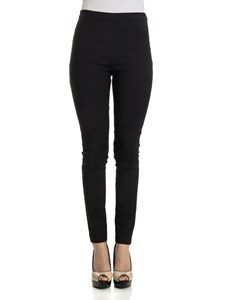 Patrizia Pepe - Slim fit black trousers