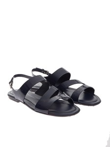 Tod's - Painted leather sandals