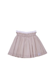 N°21 Kids - Pleated skirt