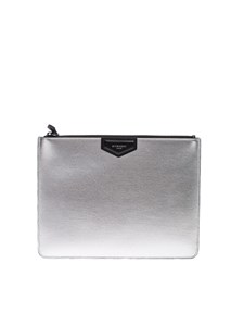 Givenchy - Leather clutch