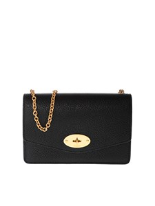 Mulberry - Small Darley shoulder bag in black