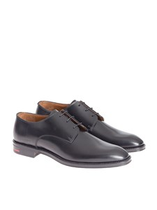 Givenchy - Brushed leather derby shoes