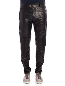 Moschino - Leather trousers