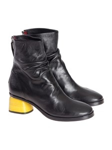Halmanera - Leather ankle boots
