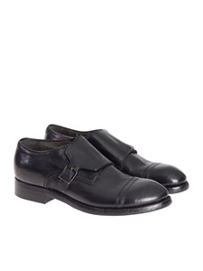 Silvano Sassetti - Leather monk-strap