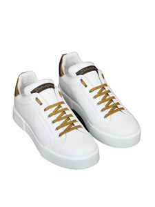 Dolce & Gabbana - Leather sneakers