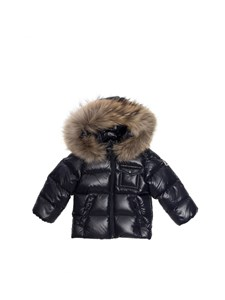 "Moncler Jr - ""K2"" blue down jacket"