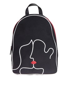 Lulu Guinness - Kissing Lips backpack