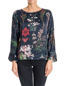 Shirtaporter - Viscose and cotton blouse