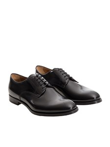 Doucal's - Brushed leather shoes