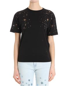 Stella McCartney - T-shirt ricamo stelle