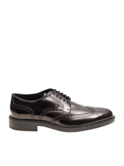 Tod's - Derby Brogue Shoes