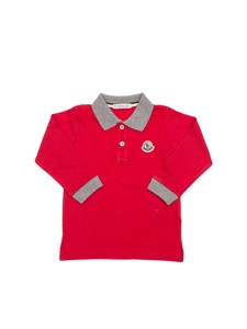 Moncler Jr - Polo in piqué