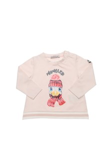 Moncler Jr - T-shirt in cotone stretch