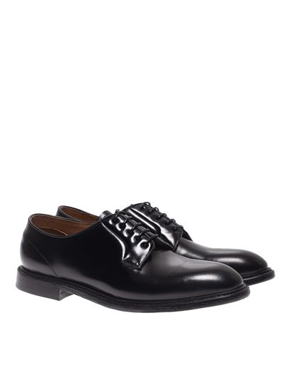 Green George - Derby shoes in black