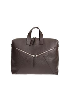 Orciani - Hammered leather bag