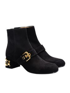 Car Shoe - Suede ankle boots