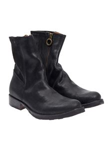 Fiorentini + Baker - Textured leather ankle boots
