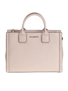 Karl Lagerfeld - Saffiano leather effect bag