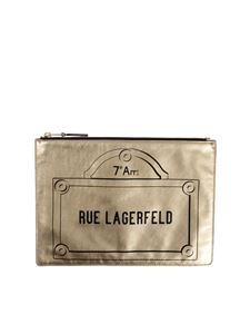 Karl Lagerfeld - Leather clutch