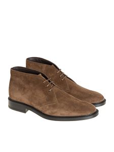 Tod's - Brown suede shoes