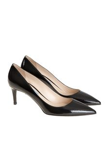 Prada - Painted leather pumps