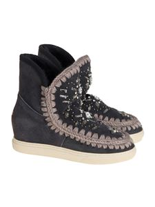 Mou - Inner Wedge Sneaker Ankle Boots
