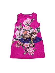Dolce & Gabbana Jr - Cotton and silk dress