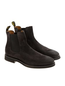 Doucal's - Black suede Chelsea boots