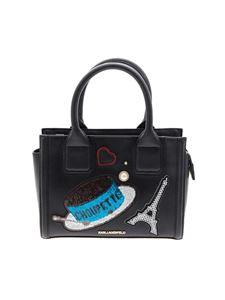 Karl Lagerfeld - Saffiano effect eco-leather bag