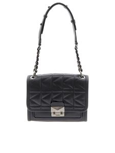 Karl Lagerfeld - Leather and quilted leather bag