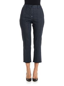 white sand - Cotton trousers