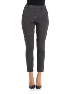white sand - Viscose trousers