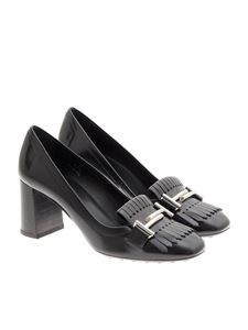 Tod's - Brushed leather pumps