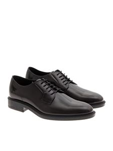 Tod's - Black derbys with rubber sole Tods