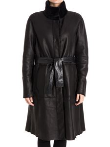 DROMe - Reversible shearling coat