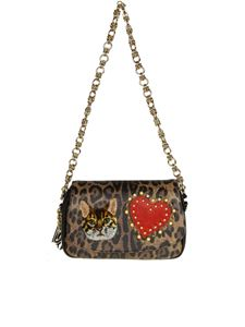 Dolce & Gabbana - Hammered leather bag