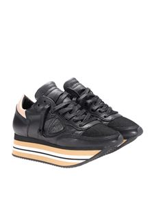 Philippe Model - Black Eiffel sneakers