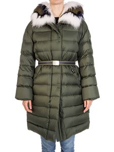 Ermanno Scervino - Hooded down jacket