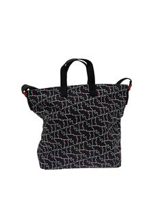 Lulu Guinness - Med Kissing Lips Romy Tote bag (Jonathan Calugi for Lulu Guinness)