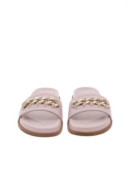 d5fd5340ab720 Valentino Carrie Over leather slippers - NW1S0C97 DJX W34