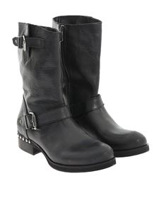 POLICE 883 - Leather boots